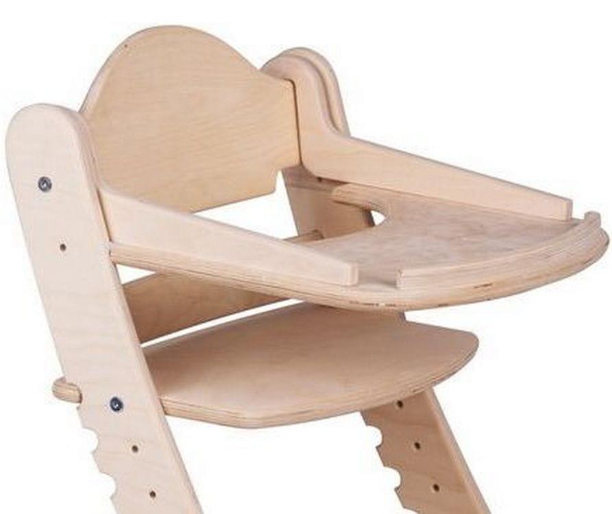 Столик для растущего стула ДВА КОТА  нешлифованный - Детская мебель