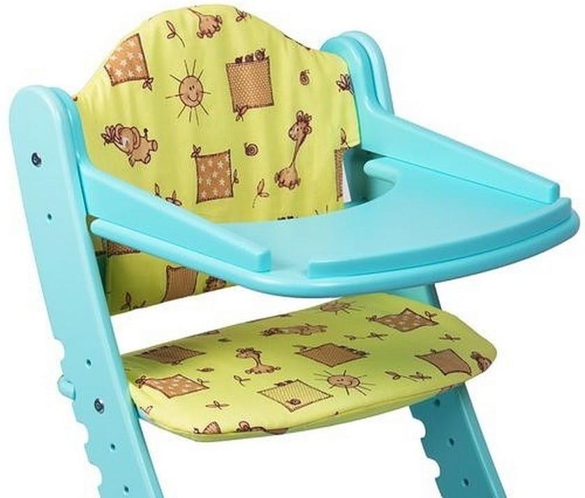 Комплект подушек для растущего стула ДВА КОТА  желтый - Детская мебель