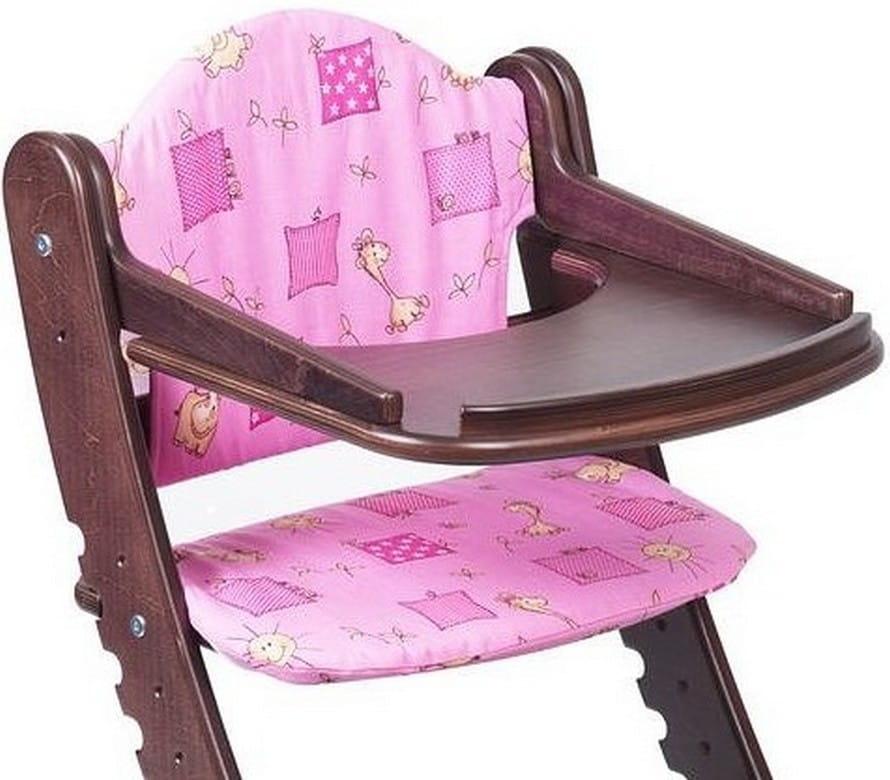 Комплект подушек для растущего стула ДВА КОТА  розовый - Детская мебель