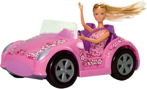 Кукла Steffi Штеффи на автомобиле (Simba)