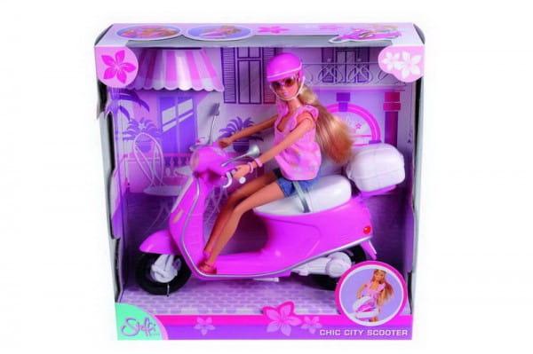 Кукла Steffi 5730282 Штеффи на скутере (Simba)