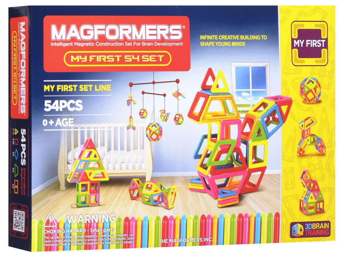 Магнитный конструктор Magformers 702002 (63108) My First Magformers 702002 (63108) 54
