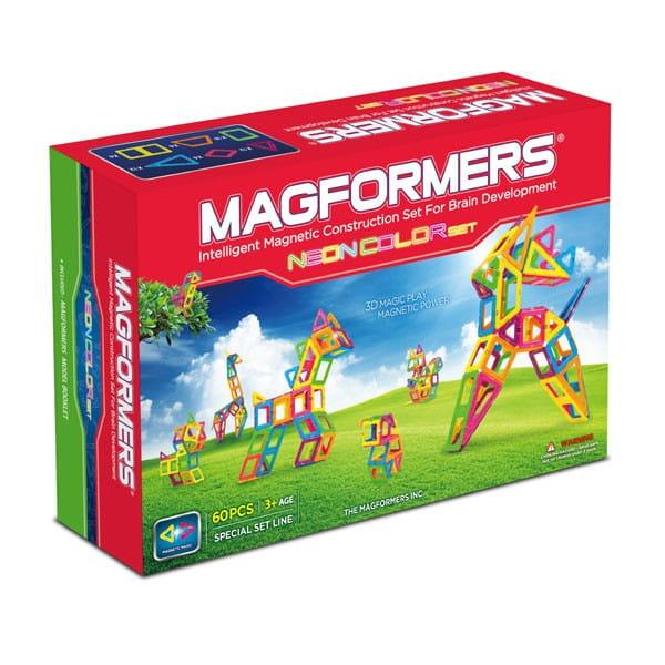 Магнитный конструктор Magformers Neon Color Set 60