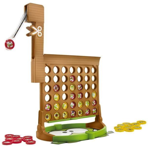 Купить Настольная игра Hasbro Connect 4 Cut the rope (Собери 4 Разрежь веревку) в интернет магазине игрушек и детских товаров