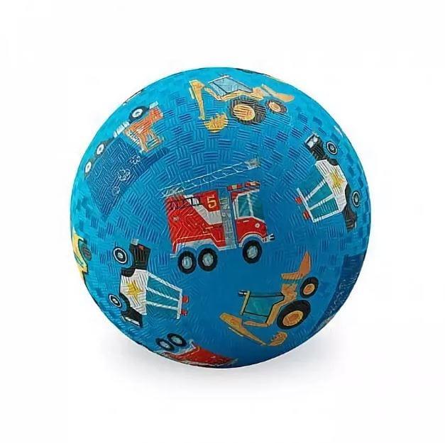 Мяч CROCODILE CREEK Голубая машина  13 см - Игры на природе