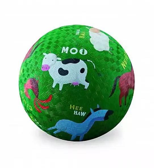 Мяч CROCODILE CREEK Ферма  13 см - Игры на природе