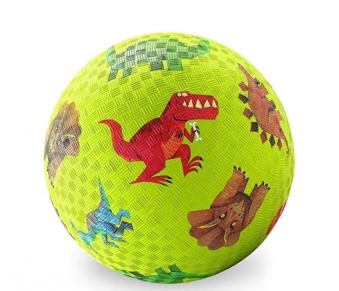 Мяч CROCODILE CREEK Динозавры  зеленый (13 см) - Игры на природе