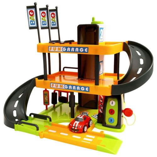 Купить Трехуровневый гараж Smoby в интернет магазине игрушек и детских товаров