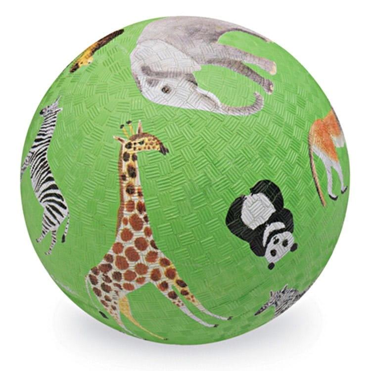 Мяч CROCODILE CREEK Дикие животные  зеленый (13 см) - Игры на природе
