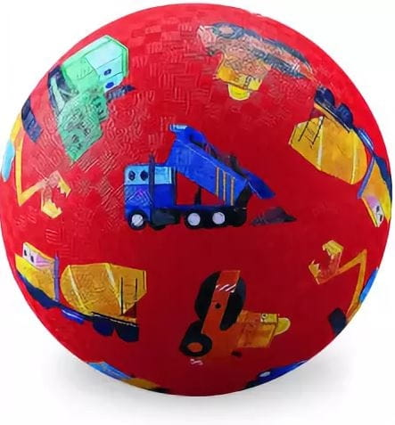 Мяч CROCODILE CREEK Маленький строитель  13 см - Игры на природе