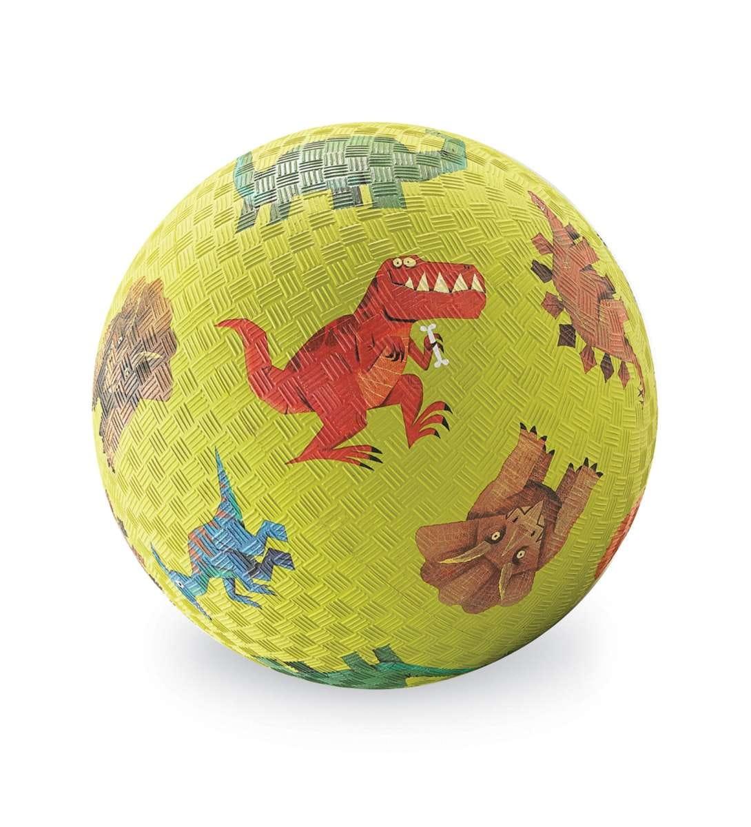 Мяч CROCODILE CREEK Динозавры  зеленый (18 см) - Игры на природе