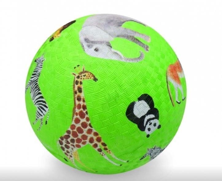 Мяч CROCODILE CREEK Дикие животные  зеленый (18 см) - Игры на природе