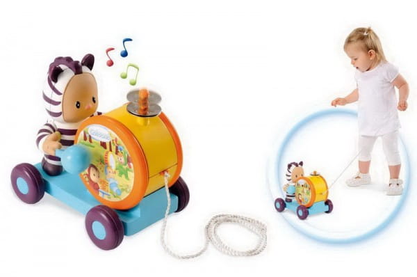Купить Игрушка Cotoons Каталка-тамбурин (Smoby) в интернет магазине игрушек и детских товаров