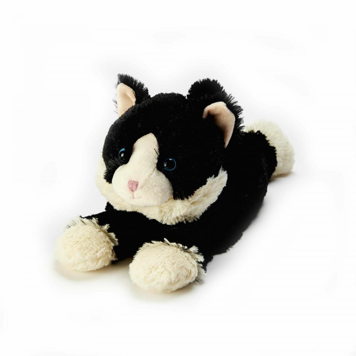 Игрушка грелка WARMIES Cozy Plush Черная Киса - Игрушки-грелки