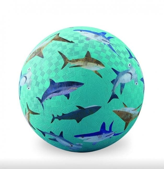 Мяч CROCODILE CREEK Акулы  18 см - Игры на природе