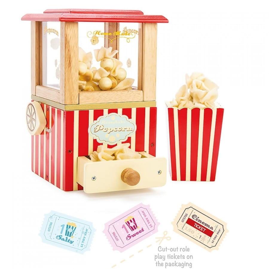 Игровой набор LE TOY VAN Машина для попкорна - Все для юной хозяйки
