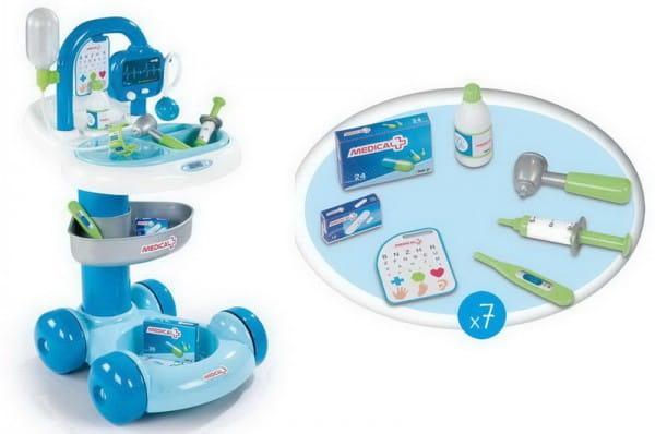 Купить Тележка доктора Medical (Smoby) в интернет магазине игрушек и детских товаров