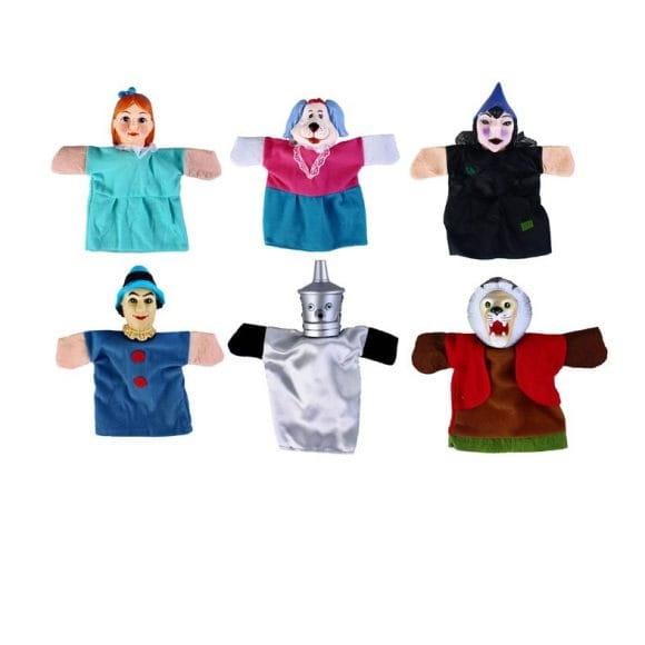Игровой набор ЖИРАФИКИ Кукольный театр - Волшебник изумрудного города