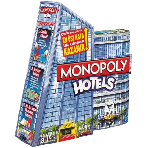 Купить Настольная игра Hasbro Монополия Отели (Hotels) в интернет магазине игрушек и детских товаров