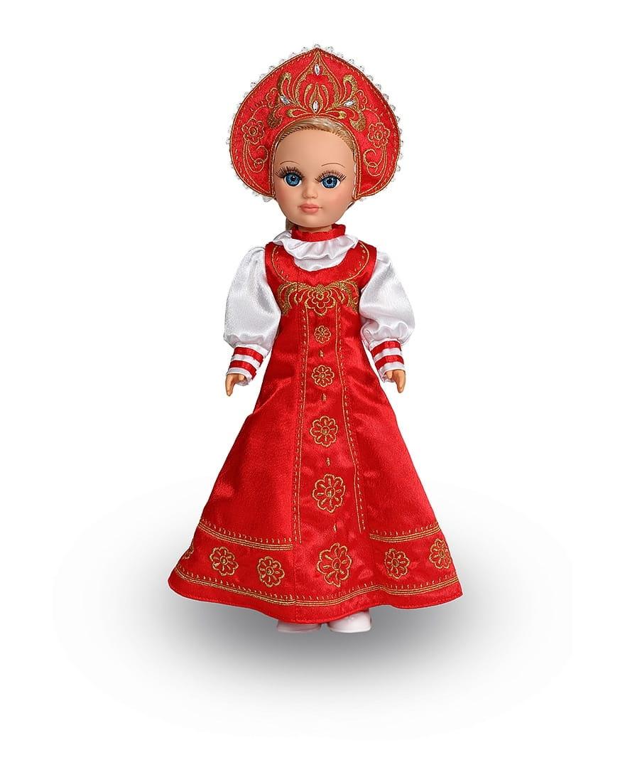 Кукла ВЕСНА Анастасия Русская красавица (со звуком)