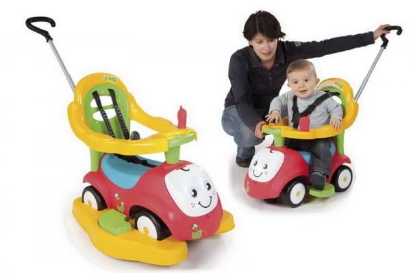 Купить Каталка-качалка Maestro трансформер - красная (Smoby) в интернет магазине игрушек и детских товаров
