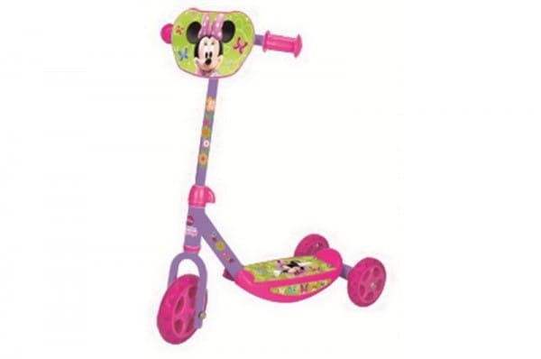 Купить Детский Самокат Minnie Mouse 3-х колесный (Smoby) в интернет магазине игрушек и детских товаров