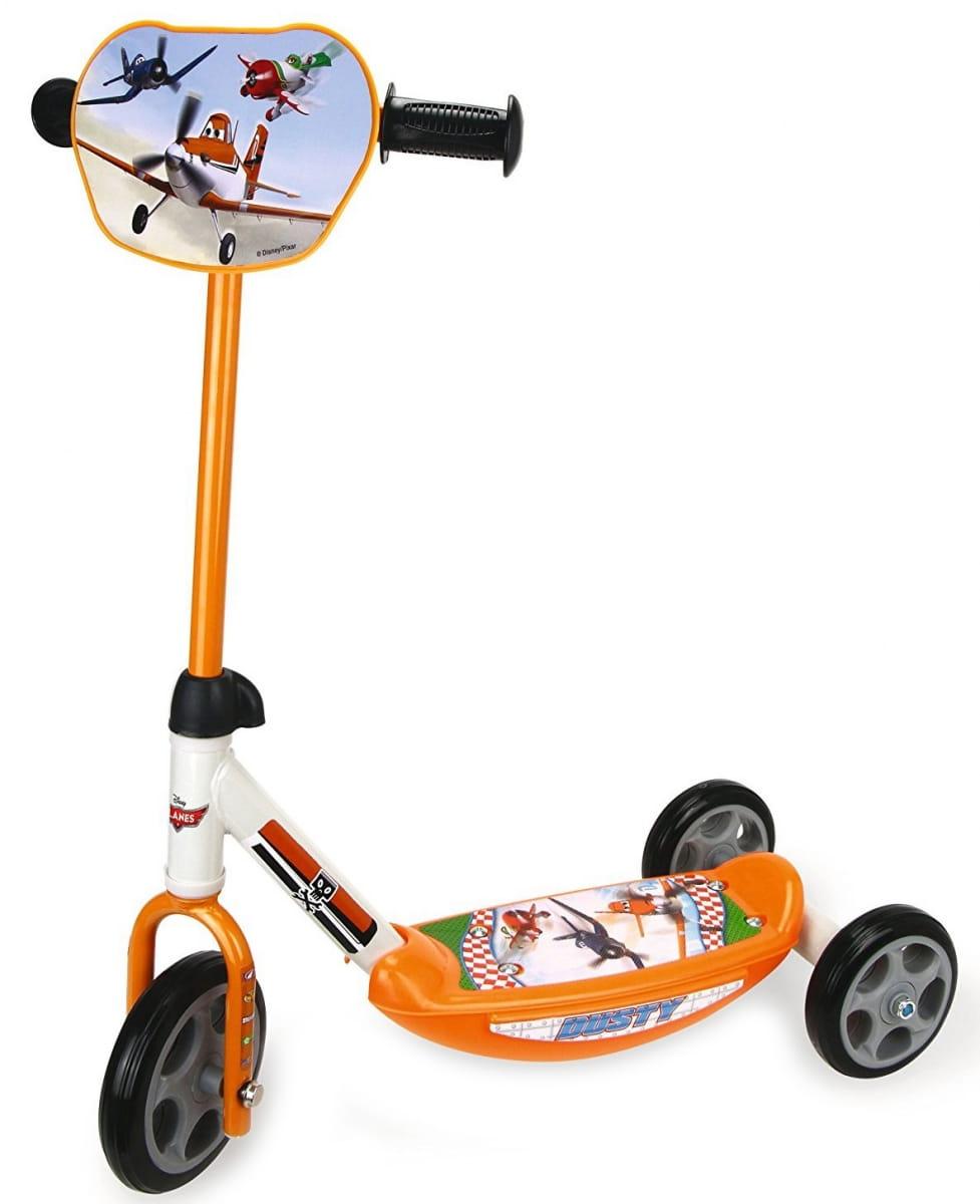 Детский Самокат 3-х колесный Smoby 450162 Самолеты Planes