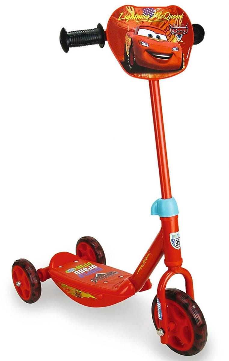 Детский Самокат 3-х колесный Smoby 450141 Тачки Cars