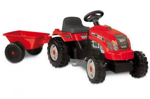 Купить Трактор GM Bull педальный с прицепом (Smoby) в интернет магазине игрушек и детских товаров