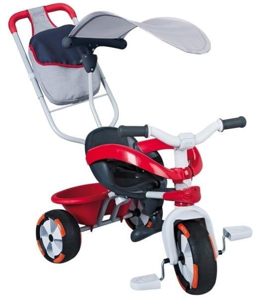 Купить Детский трехколесный велосипед Baby Driver Confort (Smoby) в интернет магазине игрушек и детских товаров