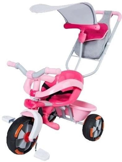 Купить Детский трехколесный велосипед Baby Driver Confort розовый (Smoby) в интернет магазине игрушек и детских товаров