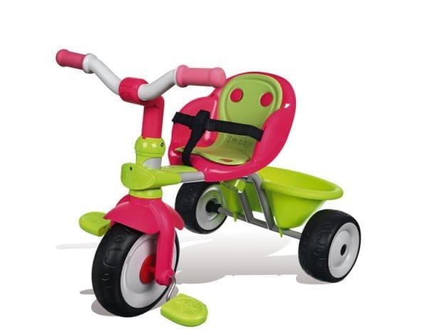 Купить Детский трехколесный велосипед Baby Driver Confort Fille (Smoby) в интернет магазине игрушек и детских товаров