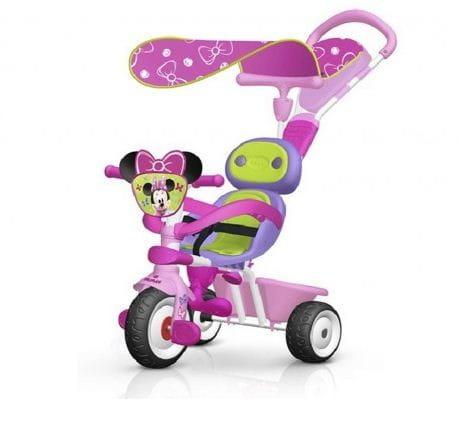 Купить Детский трехколесный велосипед Baby Driver Minnie (Smoby) в интернет магазине игрушек и детских товаров