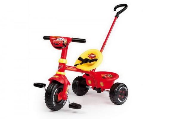 Купить Детский трехколесный велосипед Be Fun Cars (Smoby) в интернет магазине игрушек и детских товаров
