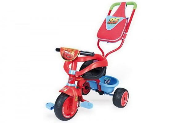 Купить Детский трехколесный велосипед Be Fun Confort Cars (Smoby) в интернет магазине игрушек и детских товаров
