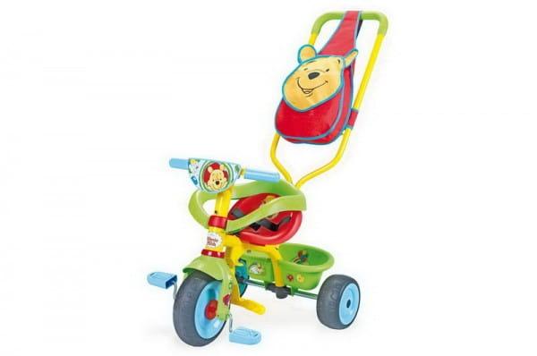 Купить Детский трехколесный велосипед Be Fun Confort Winnie (Smoby) в интернет магазине игрушек и детских товаров