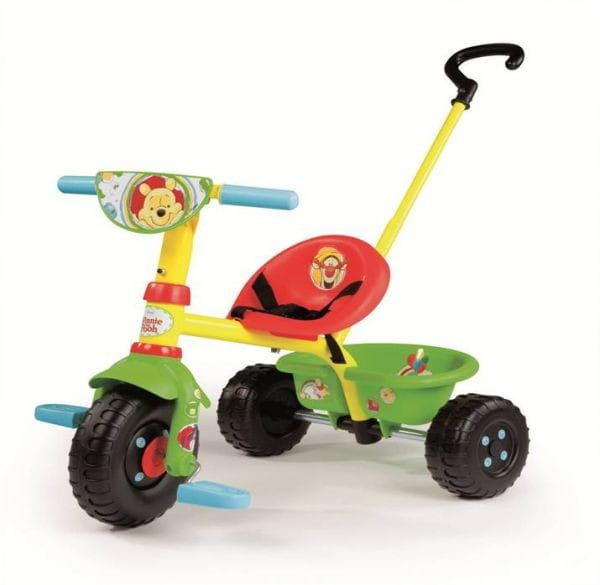 Купить Детский трехколесный велосипед Be Fun Winnie (Smoby) в интернет магазине игрушек и детских товаров