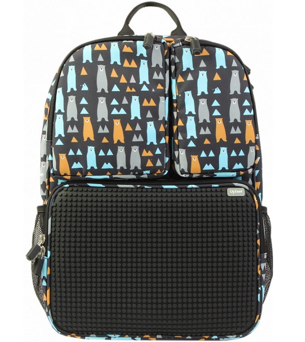 61f7e7270642 Рюкзак UPIXEL Joyful Kiddo WY-A026 - черный с рисунком - купить по ...