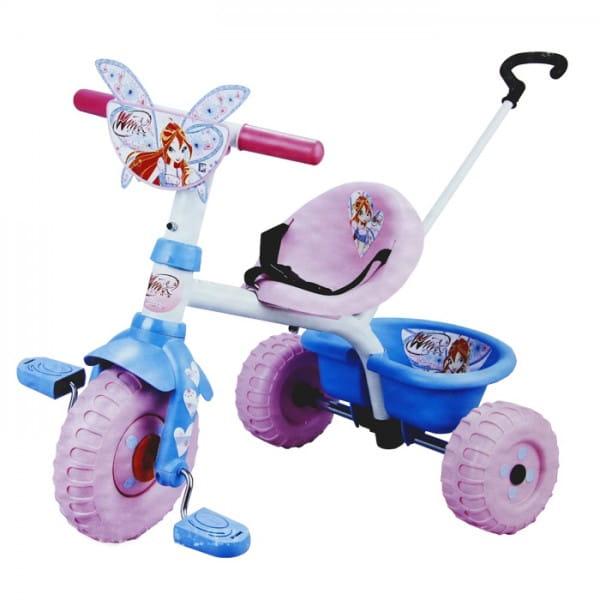 Детский трехколесный велосипед Smoby Winx