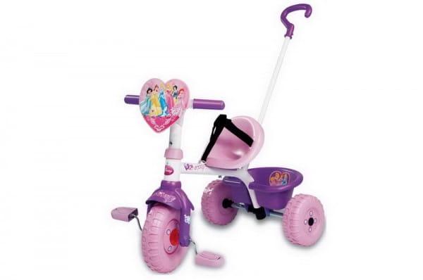 Купить Детский трехколесный велосипед Smoby Disney Princess в интернет магазине игрушек и детских товаров