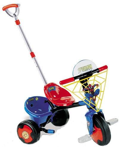 Купить Детский трехколесный велосипед Smoby Человек-паук в интернет магазине игрушек и детских товаров