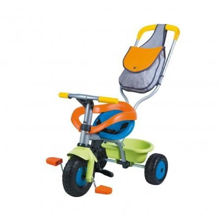Купить Детский трехколесный велосипед Smoby с сумкой 2 в интернет магазине игрушек и детских товаров