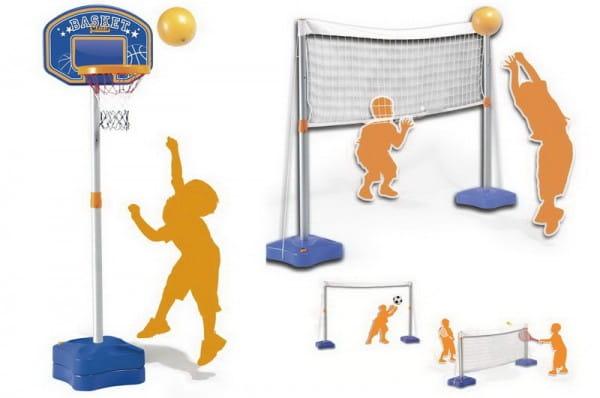 Купить Спортивный комплекс Smoby 5 в 1 в интернет магазине игрушек и детских товаров