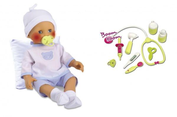 Купить Интерактивная кукла Smoby Вылечи меня 40 см в интернет магазине игрушек и детских товаров