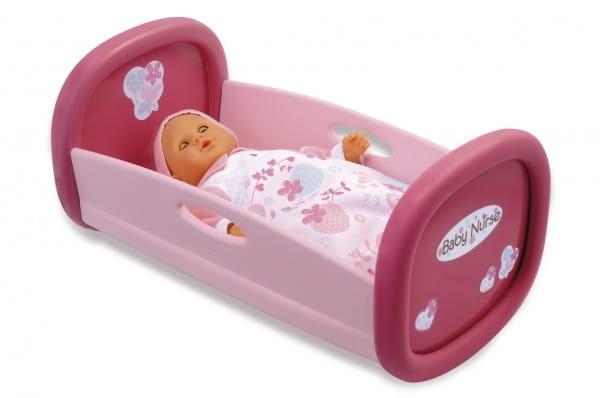 Купить Колыбель Smoby Baby Nurse в интернет магазине игрушек и детских товаров
