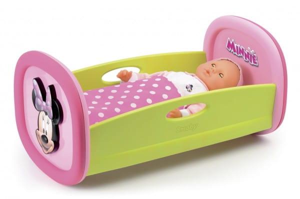 Купить Колыбель Smoby Minnie в интернет магазине игрушек и детских товаров