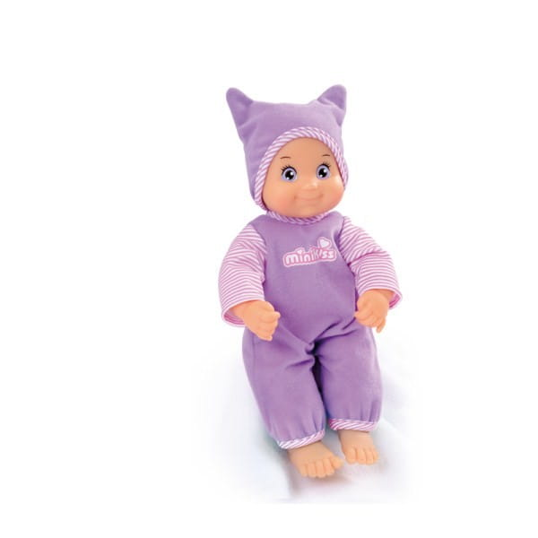 Купить Интерактивная кукла Smoby Minikiss 27 см в интернет магазине игрушек и детских товаров