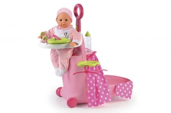 Купить Игровой набор для купания Minnie в чемодане (Smoby) в интернет магазине игрушек и детских товаров