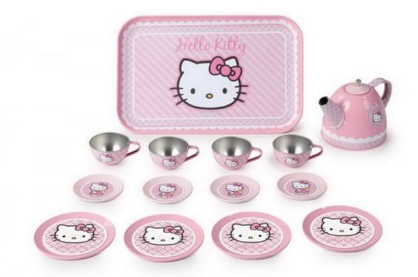 Набор посудки Smoby Hello Kitty металлический