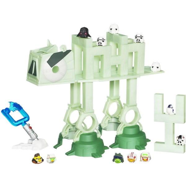 Купить Настольная игра Angry Birds Star Wars Боевая машина AT-AT (Hasbro) в интернет магазине игрушек и детских товаров